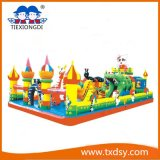 Funny Bouncy Castle, Amusement Park Inflatable Castle Txd16-212462