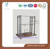 Metal and Wooden Display Stand/Rack for Clothes Shop