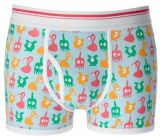 2016 BSCI Oeko-Tex 100 Men′s Underwear Boxer with Print 031903