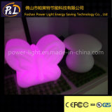 Decorative Color Changing Plastic Display Desk LED Butterfly Lamp