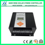 12V/24V 600W MPPT LCD Wind Solar Hybrid Charge Controller (QW-600SG14TA)