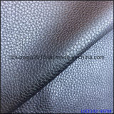 Microfiber 1.4mm Leather Emboss PU for Shoes Bags