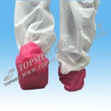 Red PVC Waterproof Shoe Cover or Plastic Shoe Cover