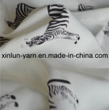 Polyester Chiffon Fabric for Dress Scarf/Garment