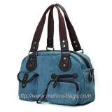 Fashion Canvas Diaper Bag for Mummy (MH-6003)