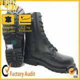Wholesale Black Genuine Leather Military Army Police Tactical Boot