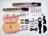 Afanti Music Sg Double Head Style Electric Guitar Kit (ASG-009D)