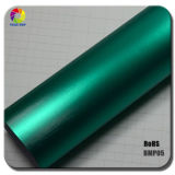 Hot Selling 1.52*20m Metal Brushed Matte Chrome Vinyl Car Foil with RoHS