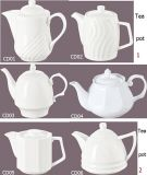 Porcelain Tea Pot for Hotel and Restaurant (CD01-06)