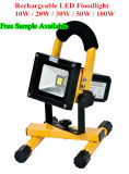 10W LED Rechargeable High Brightness LED Flood Light