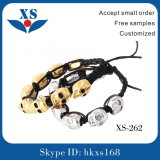 High Quality Skull Bead Bracelet (competitive price)