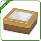 Clear PVC Gift Boxes Cardboard Box with Clear PVC Window