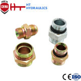 1b Bsp Adapter 60 Degree Seat Male Hydraulic Hose Fitting Hose Adapter