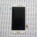 for Samsung Galaxy S3 Iii I9300 LCD with Touch Digitizer Screen Assembly Replacement White/Blue (ID106)