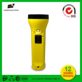 Portable Solar USB Rechargeable LED Flashlight Torch