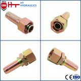 China Factory Supply Hot Forged Stainless Steel Pipe Fitting Hydraulic Hose Connector