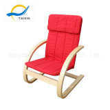 Top Selling 100% Cotton Fabric Wooden Chair