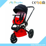 New Product 3 in 1 Travel System Reversible Seat Red Baby Stroller