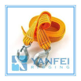 Tow Cable, Strap Car Towing Rope with Hooks
