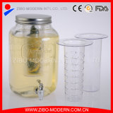 Wholesale Square Glass Beverage Dispenser with Tap