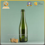 375ml Small Size Champagne Glass Bottle in Antique Green (546)