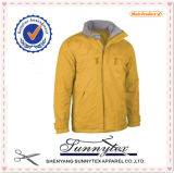 Sunnytex Hot Selling OEM Winter Men Yellow Ski Jacket