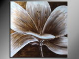 Oil Painting of Decorative Flowers-8