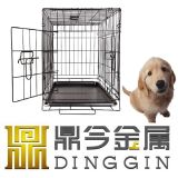 Miniature Poodle Metal Dog Cage