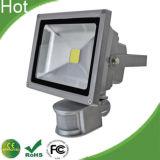 2014 Hot Sale IP65 Outdoor 100W LED Flood Light with Sensor