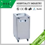 Electric Plate Warmer Cart (1 Holder) for Hotel & Restaurant & Catering Kitchen Equipment