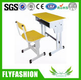Flyfashion High Quality Single Student Desk and Chair School Furniture