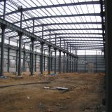 Movable Steel Structure Workshop Construction in Angola