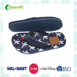 TPR Sole and PU Straps, Men′s Beach Slippers