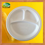 10 Inch Disposable Cornstarch Plate