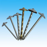 Color Zinc Plated Steel Roofing Nail for Construction