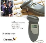 Alcohol Tester/Breathalyzer with Keychain, Time and Clock, Customized Logos Are Accepted