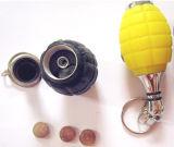 2014 Colorful Grenade LED Laser Keychain