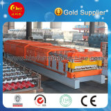 Hydraulic and PLC Controlling Steel Roof Panel Roll Forming Line
