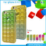 Soft TPU Squares Change Colors Design iPhone 6 Case