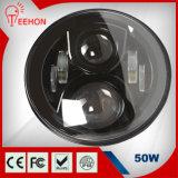 "7"" Round LED Car Headlight"