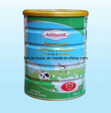 900g Milk Powder Round Tin Can with Easy Peel End