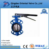 Various Butterfly Valve Type, Pn16 Manual-Operated Wafer Butterfly Valve