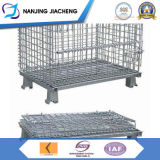 Collapsible Galvanized Wire Mesh Bins for Sales