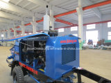 Medium Big Aggregate Concrete Pump with Diesel Engine and Electnic Engine