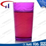 250ml Qualified Red Color Glass Water Cup (CHM8228)
