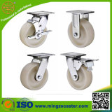 Europen Type White Nylon Heavy Duty Caster