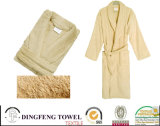 100% Cotton Solid Color Plain Terry Bathrobe Df-8852