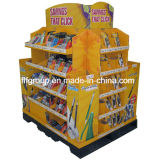 Paper Counter Display, Promotion 4 Color Printing Cardboard Display Stand