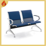 2 Seats Metal Modern Steel Airport Chairs with Cushion