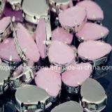 Wedding Dress Neon Acrylic Stone Beads Sew-on Flat Back Acrylic Rhinestones